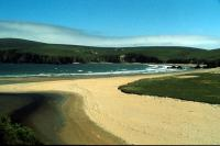 The beach at Burrafirth, Unst